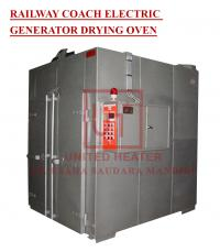 RAILWAY COACH ELECTRIC GENERATOR DRYING OVEN