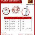Promo Cast In Alumunium
